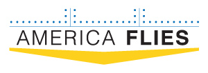 America Flies Logo Design by Barrett Morgan Design LLC