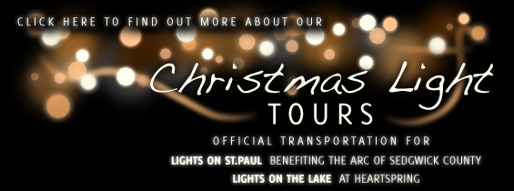 Unified Party Bus - Christmas Light Banner