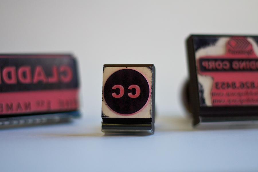 Cladding Corp Sample Box Stamp © Barrett Morgan Design LLC