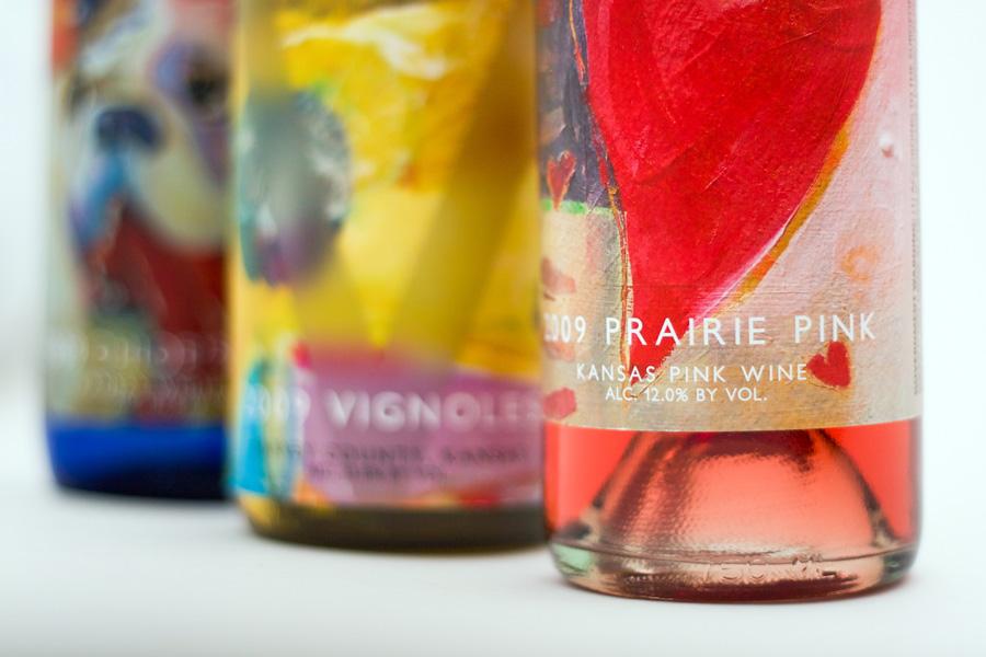 Wine Bottle Labels by Barrett Morgan Design LLC