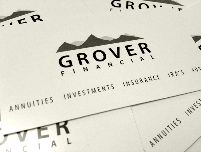 Logo Development Graphic Design for Grover Financial