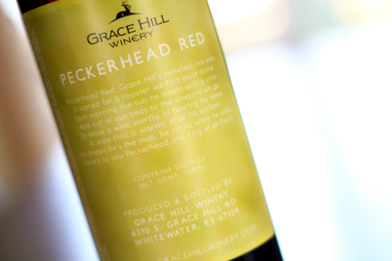 Grace Hill Winery Label Design