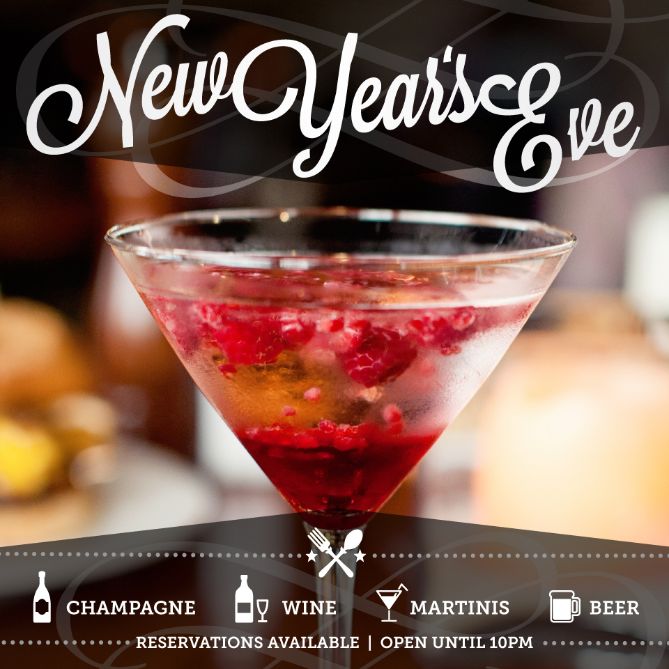Twelve Restaurant New Years Promotion