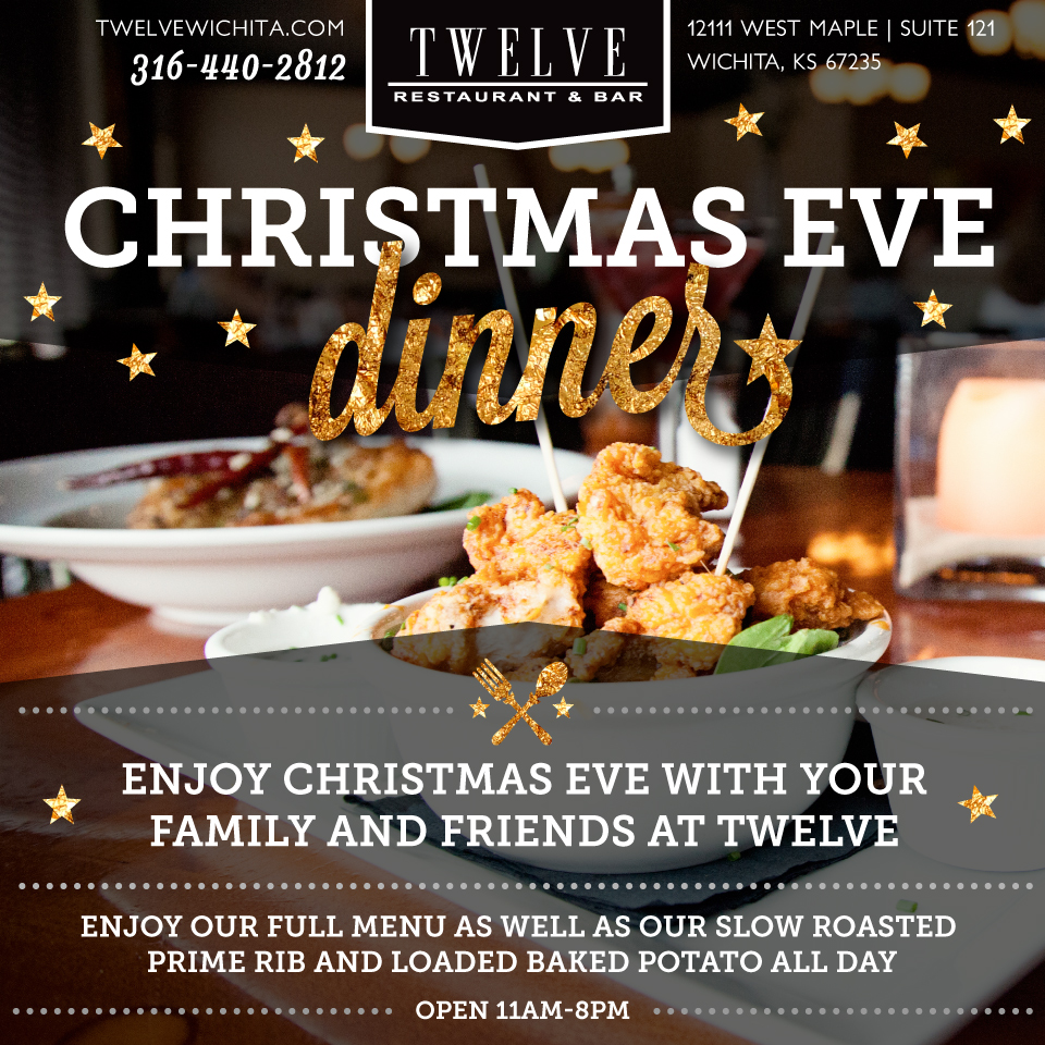 Twelve Restaurant Christmas Eve Promotion