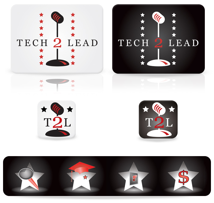 Tech2Lead Logo Development and Branding