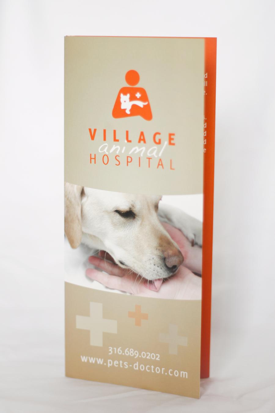 Village Animal Hospital Brochure © Barrett Morgan Design LLC
