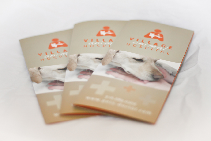 Village Animal Hospital Brochure © Barrett Morgan Design LLC
