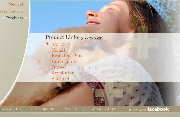 Flash website image for Village Animal Hospital