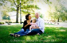 Family portrait Photography in WIchita Kansas, Barrett Morgan Design LLC