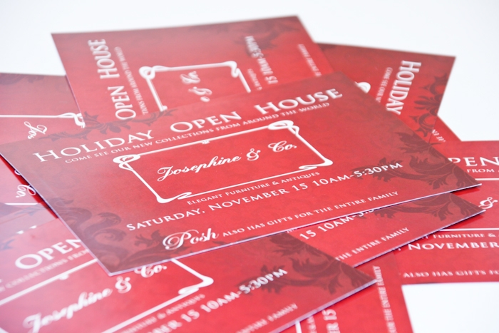 Holiday Sale Mailer Barrett Morgan Design LLC