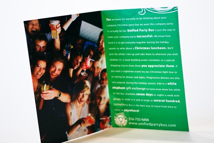 Season promotional card by Barrett Morgan Design LLC