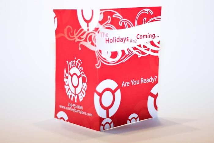 Holiday Card by Barrett Morgan Design LLC