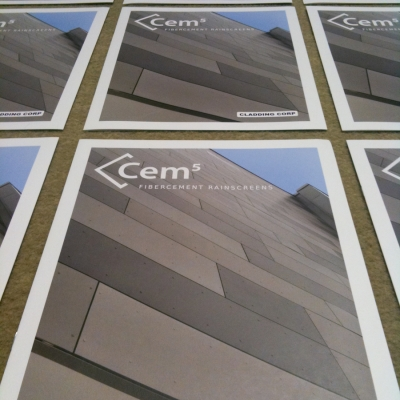 Cladding Corp Cem5 Brochures by Barrett Morgan Design LLC