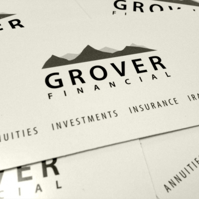 Grover Financial Website Sample - Logo Development