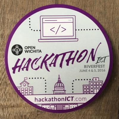 Open Wichita Hackathon ICT Branding
