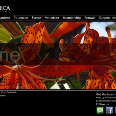 Botanica Wichita Website - Barrett Morgan Design LLC