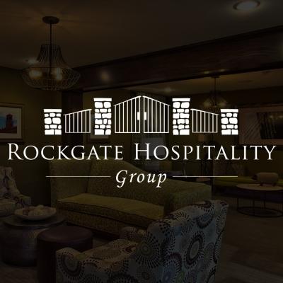 Rockgate Hotels Logo Design