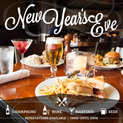Twelve Restaurant & Bar New Years Eve Promo